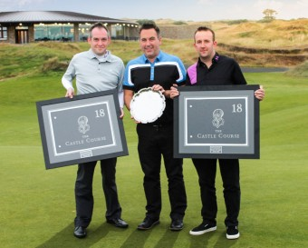 Stuart Thom of Santander Corporate and Commercial, Craig Forsyth of DF Communications and Roy Strachan of Santander Corporate and Commercial.